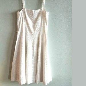 14 Lauren Ralph Lauren White Cotton Dress